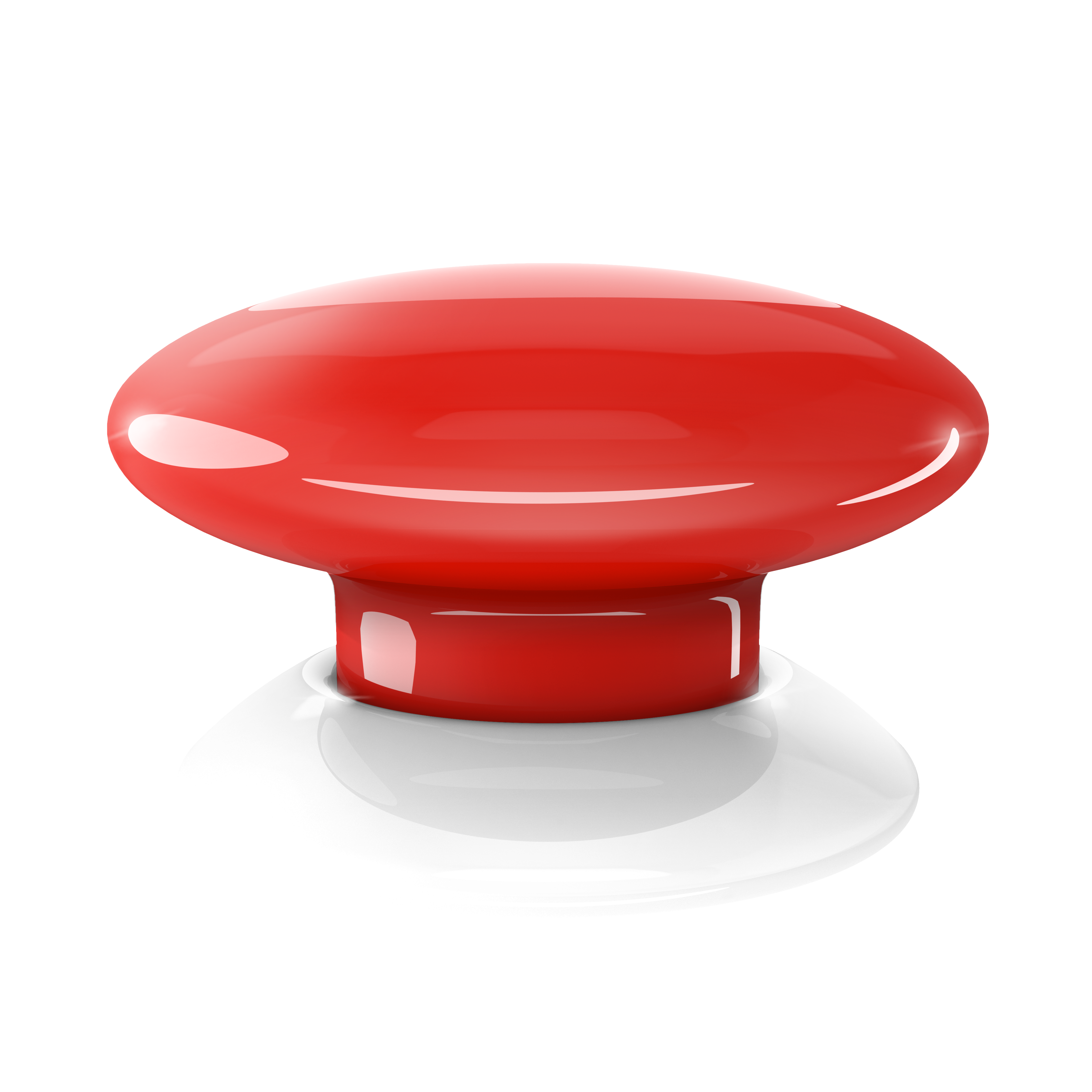 The Button - red 2
